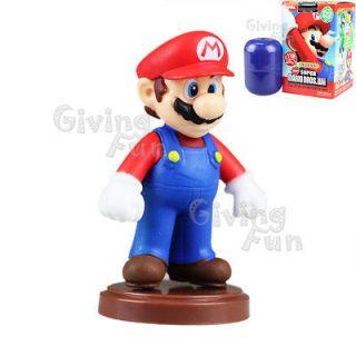 2012 Super Mario Bros Mario Action Choco Egg Figure Toy Wii vol 3