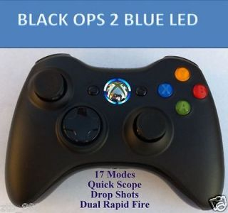 XBOX 360 RAPID FIRE MODDED CONTROLLER FOR BLACK OPS 2 MW3 DROP SHOT