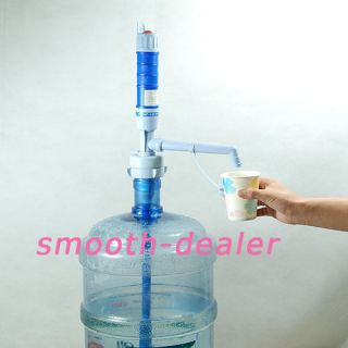 Gallon Electric Pump Hand Dispenser Water Bottle