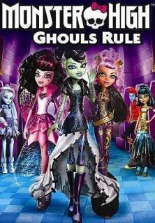 Newly listed MONSTER HIGH GHOULS RULE [DVD]   NEW DVD