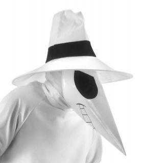 Spy Vs. Spy White Costume Accessory Kit Adult *New*