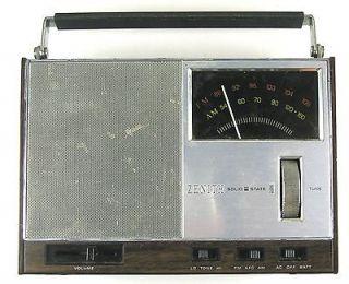Zenith RE 47W Solid State FM/AM Radio
