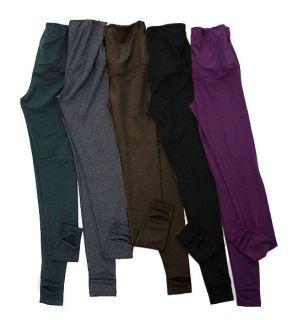 brown maternity leggings in Leggings