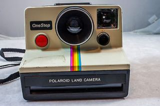 POLAROID ONE STEP RAINBOW SX 70 INSTANT FILM LAND CAMERA