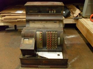 1920s antique national cash register in Cash Register, Adding