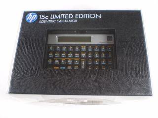 HP 15C Scientific Limited Edition Calculator. New in Box.