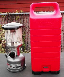 MODEL 226 DUAL FUEL SINGLE MANTLE LANTERN WITH PLASTIC CARRY CASE