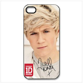 1D One Direction Niall Horan New iPhone 5 Hard Black Plastic Case