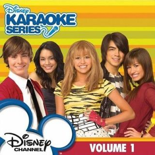 Disney Karaoke Series   Vol. 1 Disney Channel Karaoke [CD New]