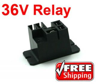 DC RELAY, BATTERY CHARGER, 30A, 36V, CLUB CAR, REPL. 1015911, FREE