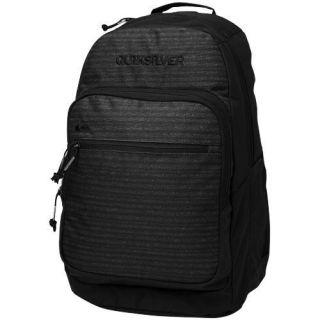 Quiksilver Schoolie Laptop Backpack   Black/Gray