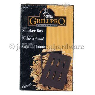 Cast Iron BBQ Grill Smoker Box
