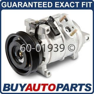 NEW AC COMPRESSOR & CLUTCH FOR CHRYSLER DODGE & JEEP (Fits Magnum)