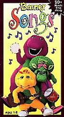 Barney Songs [VHS], Acceptable VHS, Lauren Mayeux, Michaela Dietz, E,