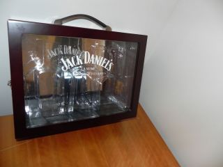 Jack Daniels Display Cherry Wood Box Case for Gentleman Jack, Single