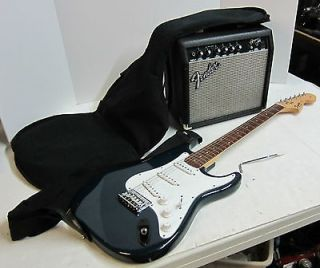 Squier Strat Affinity Electric Guitar by Fender with Frontman 15G Amp