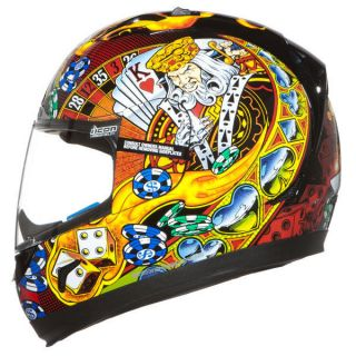 ICON ALLIANCE LUCKY LID STREET HELMET (NEW)