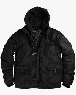 Alpha Industries Cobbs II Jacket   Black, 2 tone Dark Gun Metal