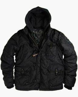 Alpha Industries Cobbs II Jacket   Black, 2 tone Dark Gun Metal