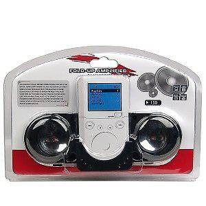 Portable Fold Up Amplified Speaker Audio System for  Players