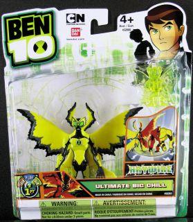 BEN 10 HAYWIRE ULTIMATE BIG CHILL + mini figure