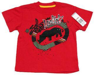 ECKO UNLTD Toddler Boys Red/Black/Green Tee Shirt NWT $20