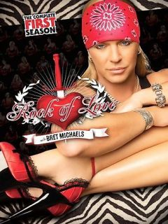 NEW Rock of Love with Bret Michaels Season 1 on DVD first