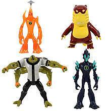 Ben 10 Haywire 4.5 inch Action Figure 4 Pack   Upchuck, Four Arms