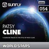 SunFly WorldStars Karaoke CDG #054 PATSY CLINE GREATEST HITS
