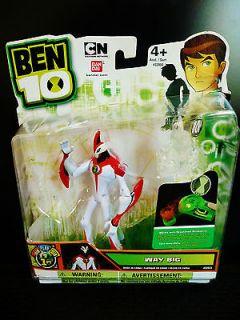 Ben 10 Way Big, 4 Alien Action Figure with 1.5 mini alien figure