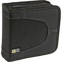 Case Logic Cdw 32 Blk Nylon Cd Wallet holds 32 Or 16 W/notes
