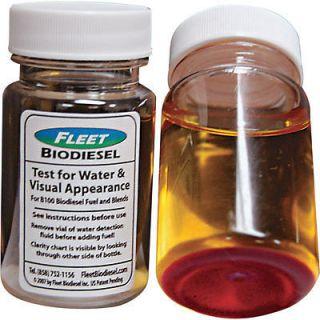 Diesel + Biodiesel Fuel Test Kit Water + Visual Clarity