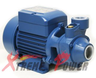 HP ELECTRIC WATER PUMP POOL FARM POND Centrifugal BioDiesel