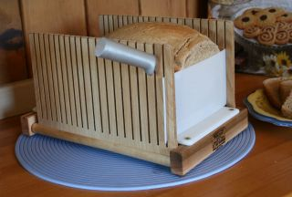 Bread Slicing Guide   Our easy storage design sets us apart