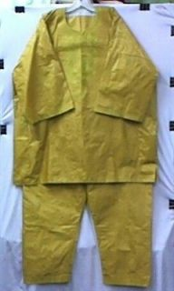 Men Brocade African Clothing Pant Suit Mustard & Gold Doesnt Come L