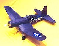Vought Corsair Easy Built Models #FF70 Balsa Wood Model Airplane Kit