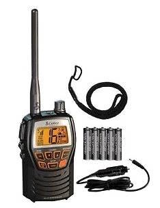 Cobra MR HH125 Rugged Compact Waterproof Marine Handheld VHF Radio