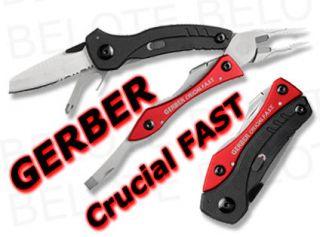 Gerber Crucial FAST Multi Plier Tool 30 000315 **NEW**