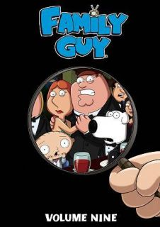 Family Guy, Vol. 9 (DVD, 3 Disc Set). Brand New/Sealed Collection