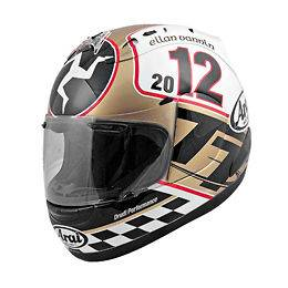 LIMITED EDITION 2012 ISLE OF MAN TT ARAI CORSAIR V HELMET
