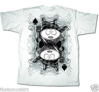 New Authentic South Park King Cartman Adult T Shirt