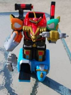 2002 Bandai Power Rangers ♥ Isis Command Megazord ♥ Bright Colors