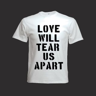 TEAR US APART T SHIRT Joy Division Ian Curtis New Order Interpol Indie
