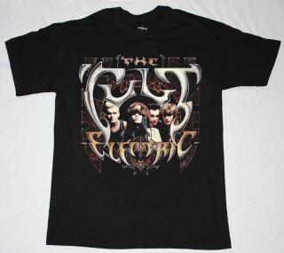 ELECTRIC87 HARD GOTH ROCK BAND U2 INXS R.E.M. S XXL NEW BLACK T SHIRT