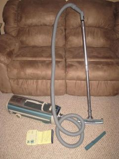 Vintage Electrolux 1205 Canister Vacuum Cleaner & Attachments