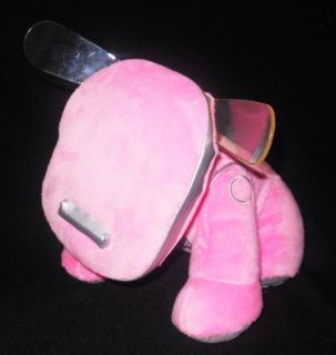 Plush Pink Interactive iDog i Dog Hasbro Tiger Electronics Soft