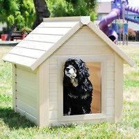 XLARGE DOGHOUSE~BUNKHOUSE STYLE PET HOUSE~ECO FRIENDLY DOG HOUSE w