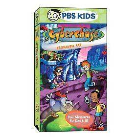 Cyberchase   Ecohaven CSE (VHS, 2005) PBS KIDS NEW