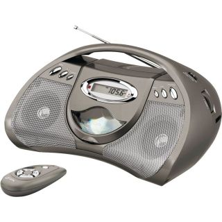 GPX Portable CD Player AM/FM Radio and Remote Control Line In