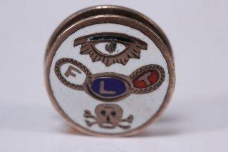 Independent Order of Odd Fellows Fraternal Member Lapel Pinback